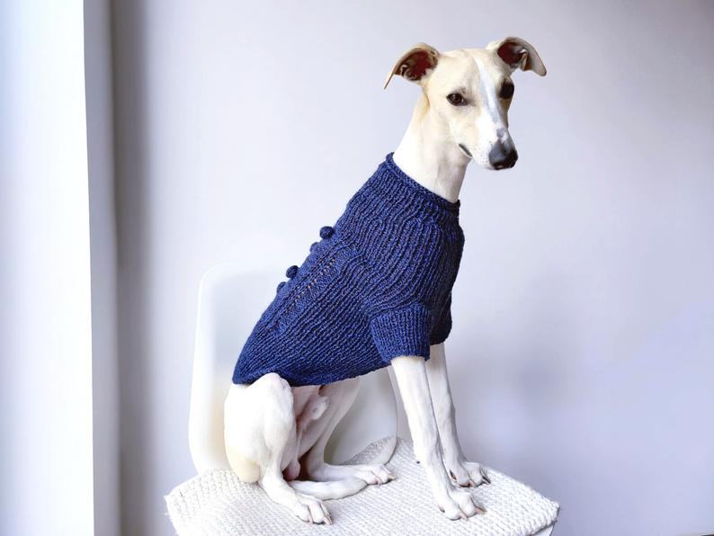 Woolywag Blue Whippet Sweater