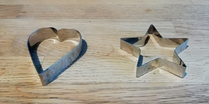 Heart & Star Dog Treat Cookie Cutters