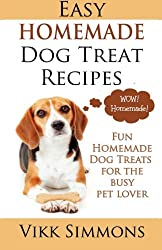 Easy Homemade Dog Treat Recipes by Vikk Simmons