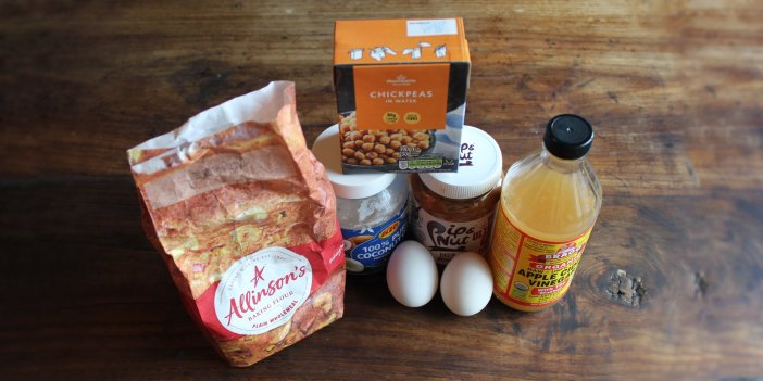 Homemade Chickpea & Peanut Butter Dog Cupcake Recipe