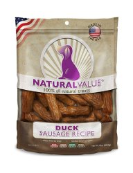 Loving Pets Natural Value Duck Sausage