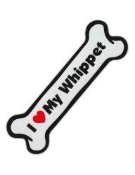 Gift Ideas for Whippet Lovers - Car Magnet