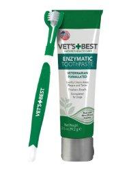 Vet's Best Enzymatic Dog Toothpaste & Brush