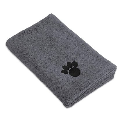 Bone Dry Embroidered Microfiber Dog Towel